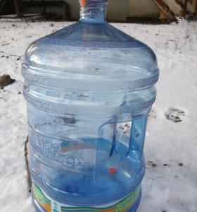 Бутыль для воды с ручкой 19л
