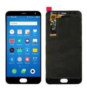 Дисплей для Meizu M2 Mini с тачскрином, черный