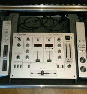 Pioneer CDJ 200 и DJM 300 S