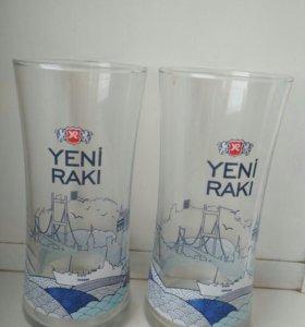 Сувенирные брендовые бокалы. Стамбул