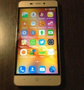 Телефон ZTE Blade X3 gold 4G/LTE