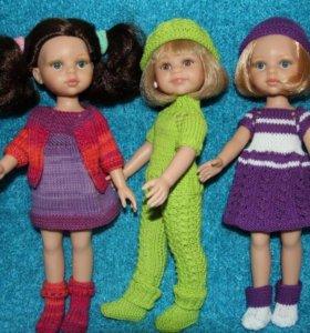 Вязаная одежда для кукол Паола Рейна (32 см) и др