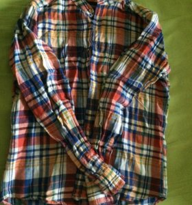 Рубашка springfield новая S лён