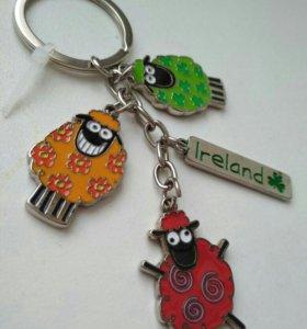 Брелок овцы Ирландия