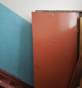 Дверь металлическая с коробкой 1080×2120