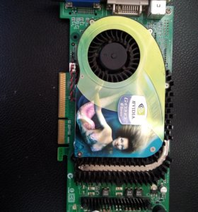 Видеокарта AGPx8 nVidia GeForce 6800 GT 256mb