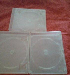 3 коробки от blu-ray дисков