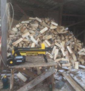Дрова берёзовые колотые длинна 30-40 см