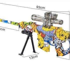 Снайперская винтовка на аккумуляторе