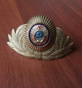 Кокарда мвд ссср 1969