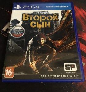 Продам inFAMOUS на PS4