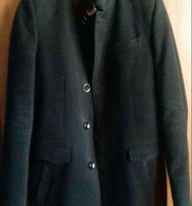 Пальто мужское драповое осенне-зимнее