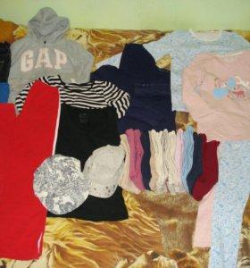 3 пакета вещей на девочку от р.128