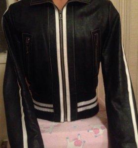 Кожаная куртка мужская ИТАЛИЯ