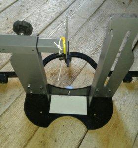 Станок для правки колес велосипеда