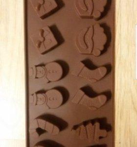 Формы для шоколада,выпечки, мастики или мыла
