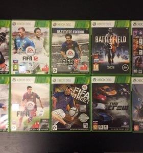 Игровые диски для Xbox 360