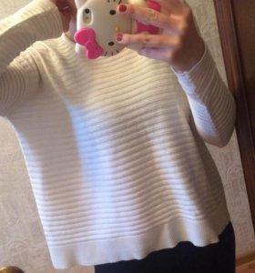 Вязаная кофта свитер mango