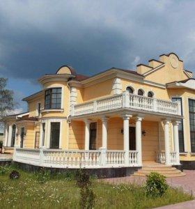 Фасадный декор, изготовление и монтаж балясин