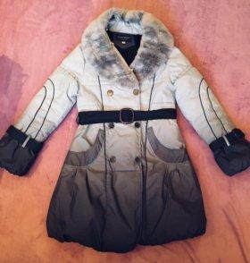 Зимнее пальто 42-44р