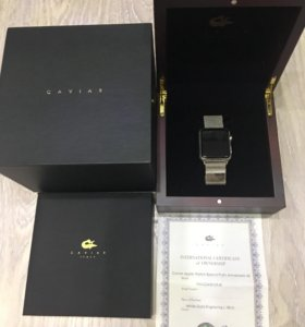 Часы Caviar Apple Watch.