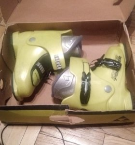 Детские горнолыжные ботинки fisher