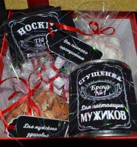 Подарочная коробка/ подарок/ носки