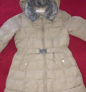 Пальто Geox демисезонное (пух)