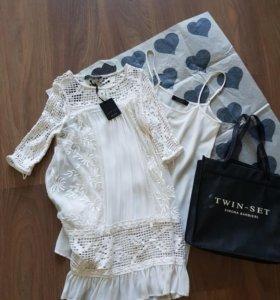 Платье кружевное Twin Set xxs