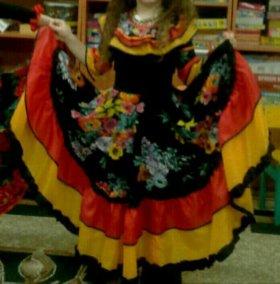 Костюм для девочки цыганочки на прокат 5-6 лет