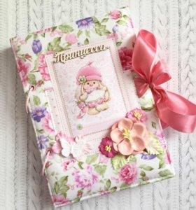 Альбом-Книга о малышке. Зайка Ми. Ручная работа