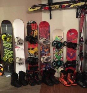 Сноуборд/ лыжи