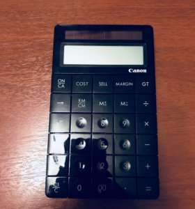 Калькулятор Canon черный