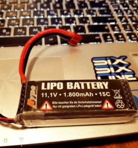 Аккумулятор Hype Lipo Battery 11.1V 1800mAh 15C