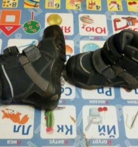 Зимние теплые ботинки 21 размер