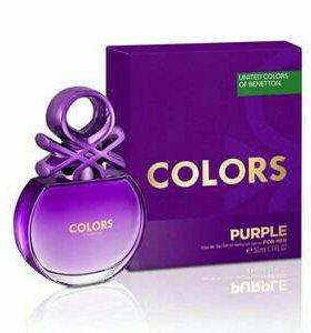 Туалетная вода Benetton Colors Purple
