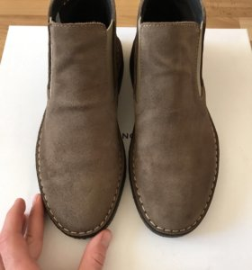 Мужские итальянские ботинки челси