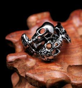 кольцо мужское сталь 21р