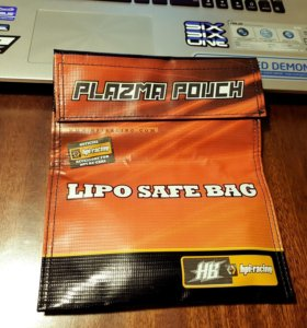 HPI-Racing Plazma Pouch LiPo Safe Bag