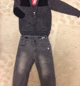 Джинсы и свитер Kanz boys 92 2Y