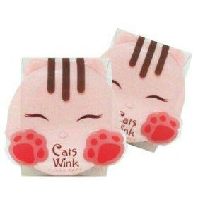Компактная пудра Tony Moly Cats Wink- Корейская