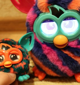 2 интерактивные игрушки Furby boom+Furby furbling