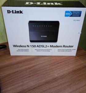 Роутер D-Link DSL-2640U