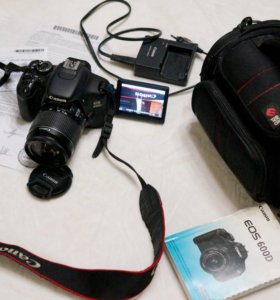 Фотоаппарат Canon 600D kit 18-55mm