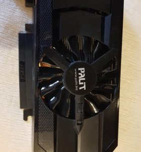 Видеокарта Palit GeForce GTX 660, 2 Гб, GDDR5