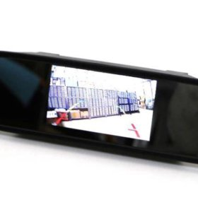 Зеркало с камерой заднего хода