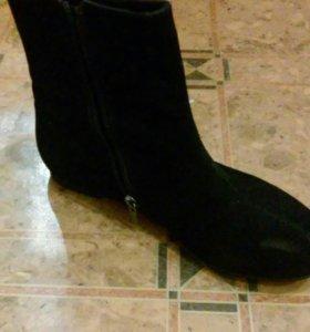 ботинки осенние,500 за обе пары