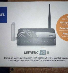 Wi-Fi-роутер keenetic 4g ii