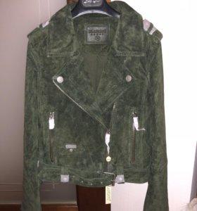 Новая замшевая куртка Blank Denim NYC, XS/S