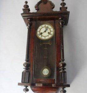 Настенные часы 19-века Gustav Becker.